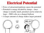 electrical potential1