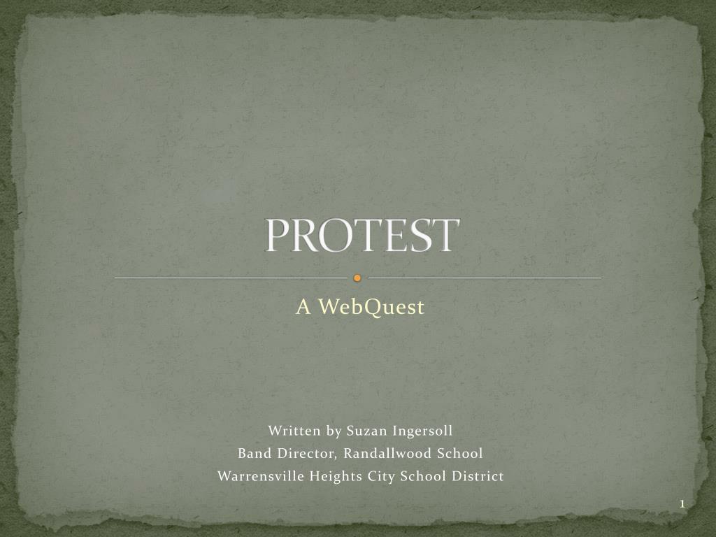 protest l.