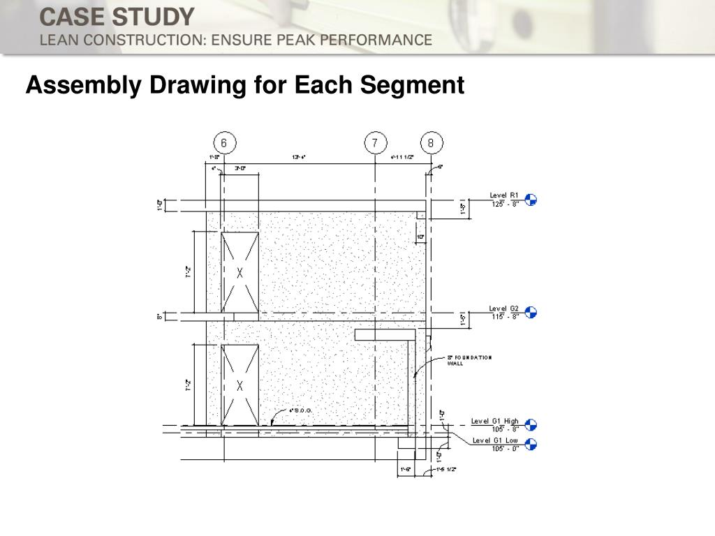 Assembly Drawing for Each Segment
