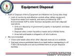 equipment disposal33
