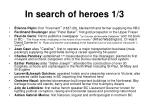 in search of heroes 1 3