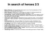 in search of heroes 2 3