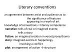 literary conventions