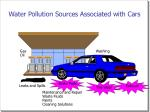 water pollution sources associated with cars