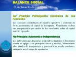 balance social cumplimiento de principios9