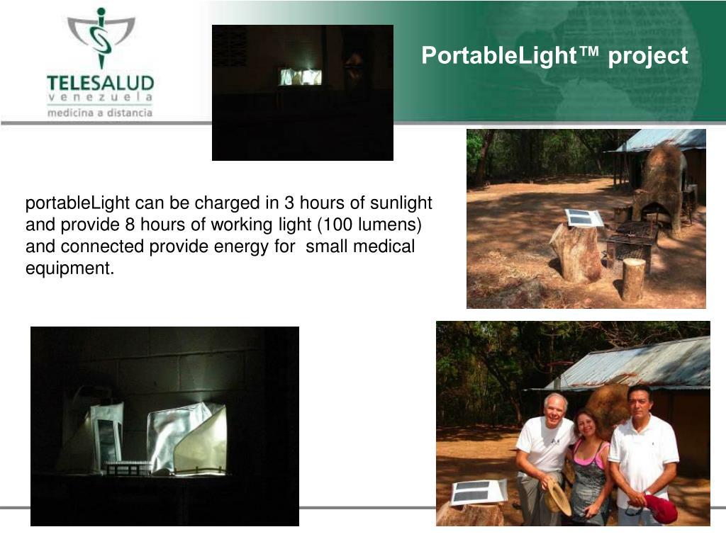 PortableLight™ project