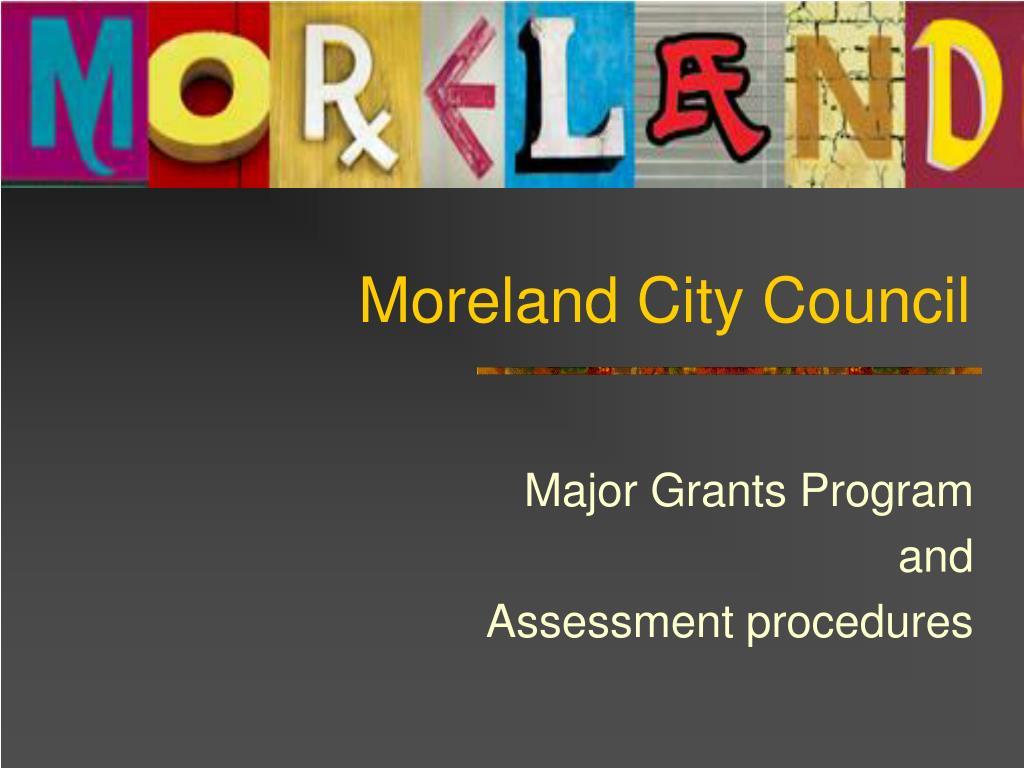 moreland city council l.