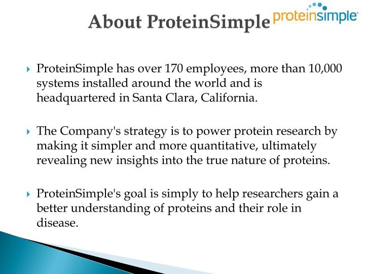 About proteinsimple