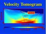 velocity tomogram54