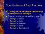 contributions of paul amrhein15