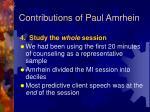 contributions of paul amrhein17