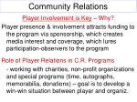 community relations12