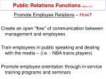 public relations functions mullin 327