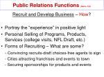 public relations functions mullin 329