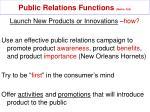 public relations functions mullin 32919
