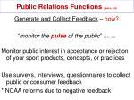 public relations functions mullin 32920