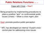 public relations functions mullin 32921