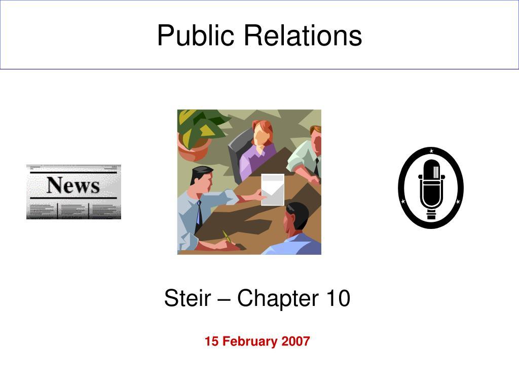 public relations l.