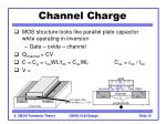 channel charge12
