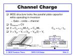 channel charge13