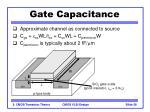 gate capacitance