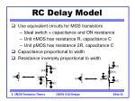 rc delay model
