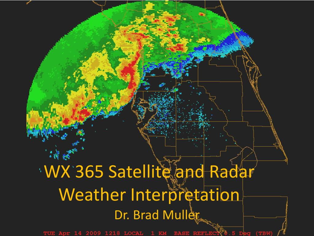 wx 365 satellite and radar weather interpretation l.