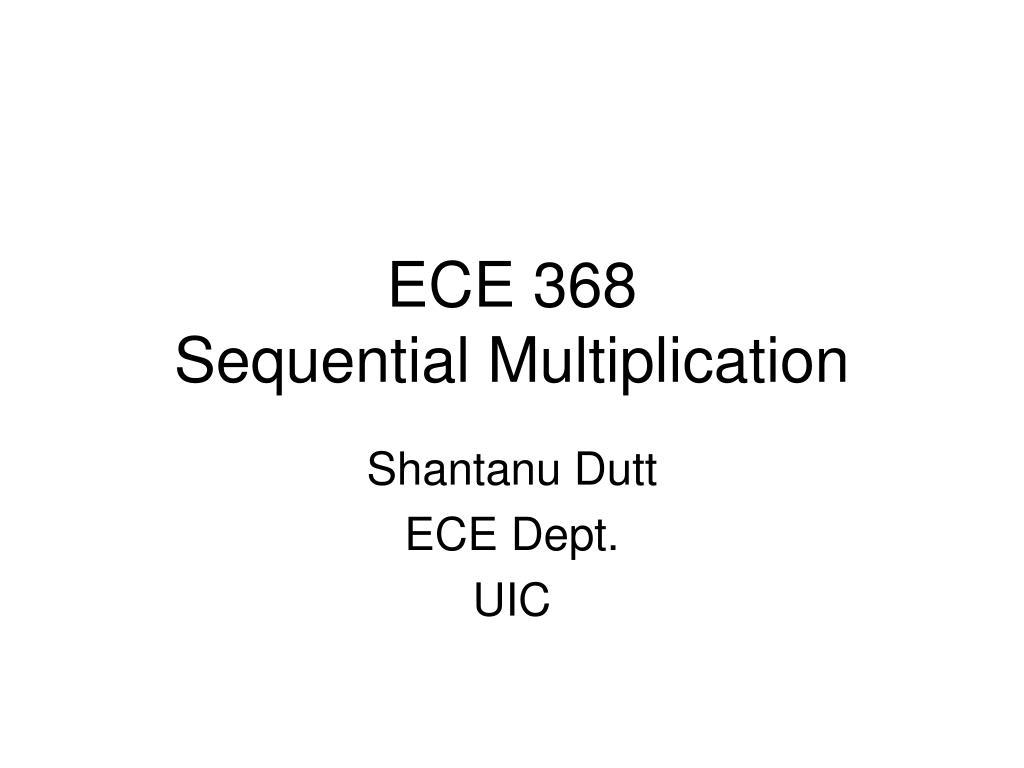 ECE 368