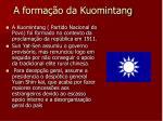 a forma o da kuomintang