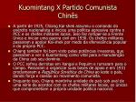 kuomintang x partido comunista chin s