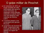 o golpe militar de pinochet