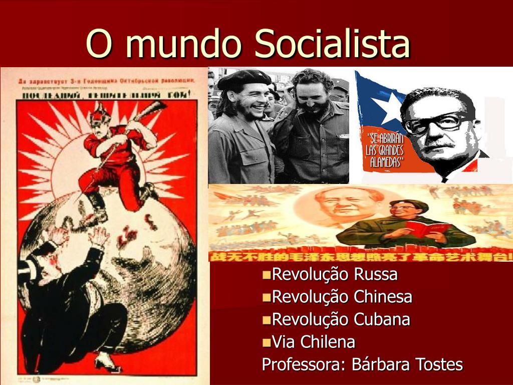 o mundo socialista l.
