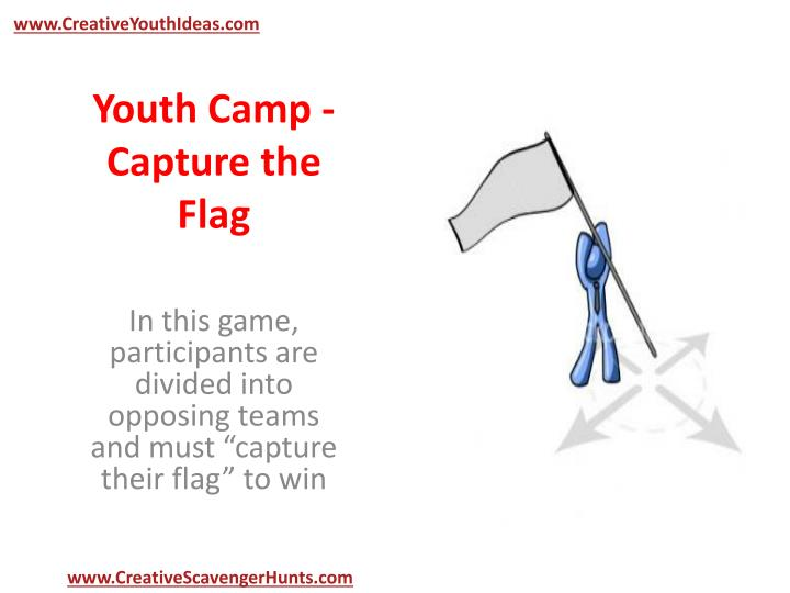 Youth camp capture the flag