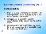 rational emotive counselling ret175