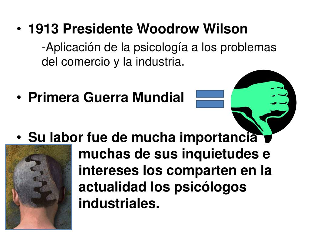 1913 Presidente Woodrow Wilson