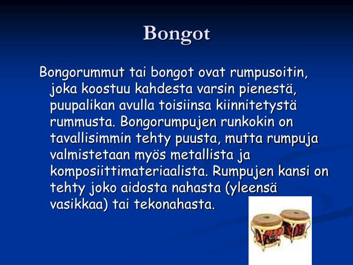 Bongot