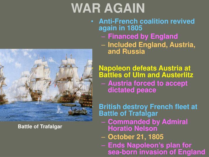 WAR AGAIN