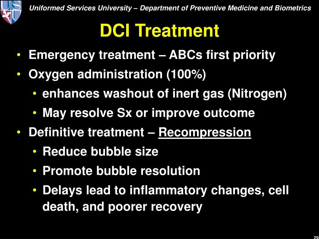 DCI Treatment