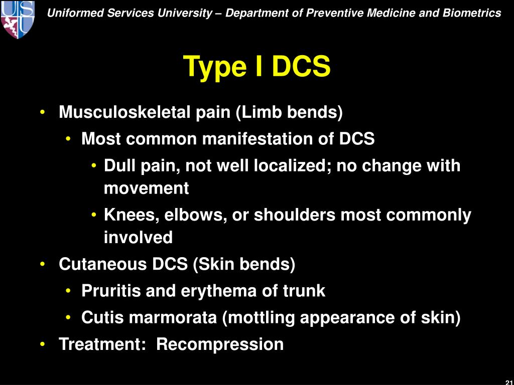 Type I DCS