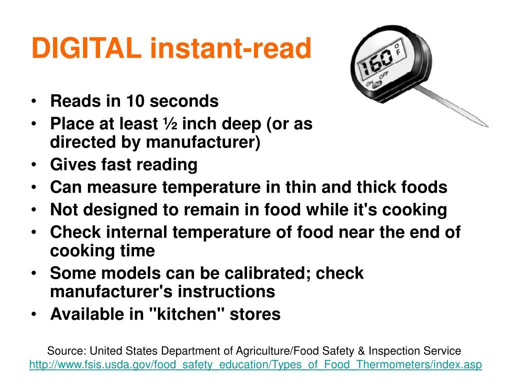 DIGITAL instant-read