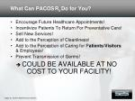 what can pacos r x do for you