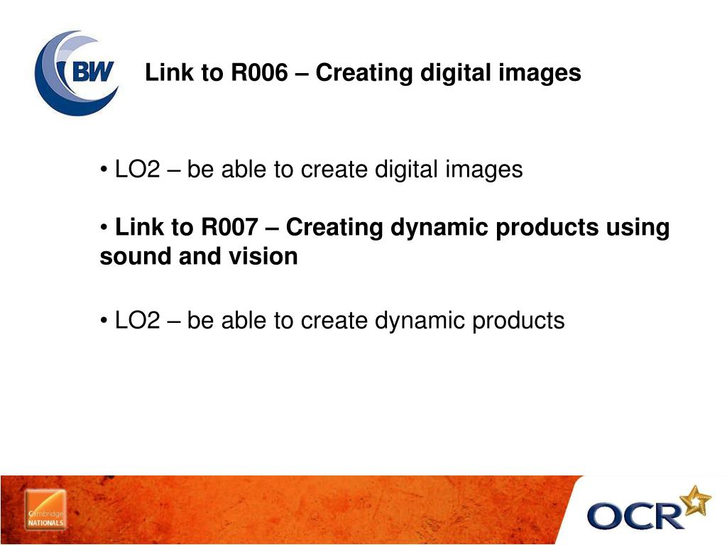 Link to R006 – Creating digital images