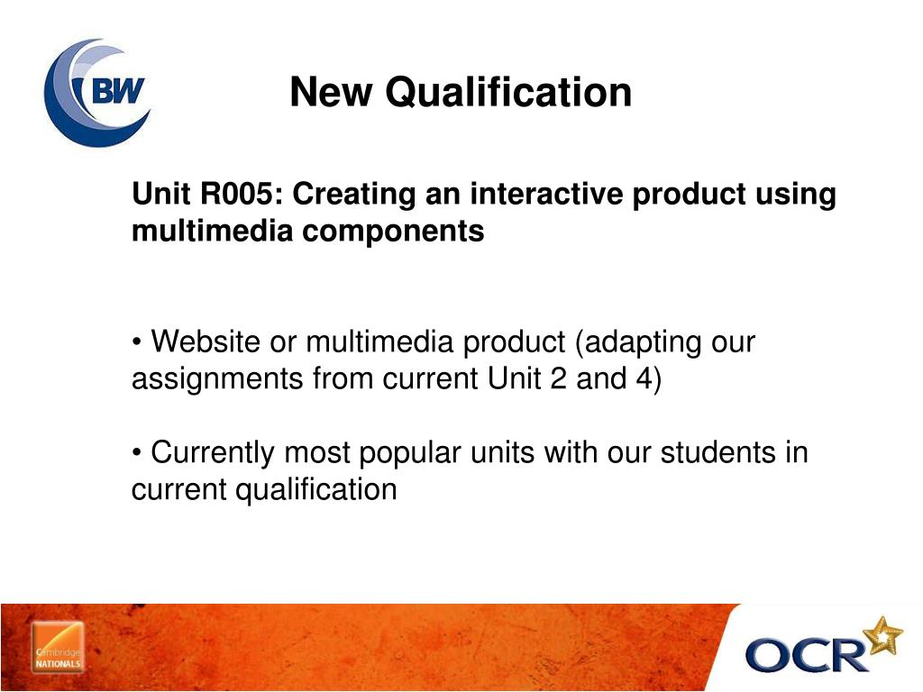 New Qualification