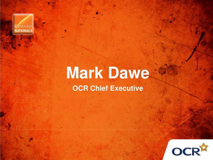 Mark Dawe