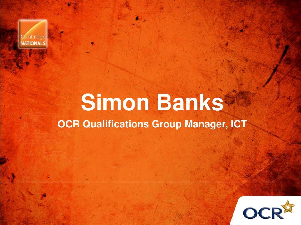 Simon Banks