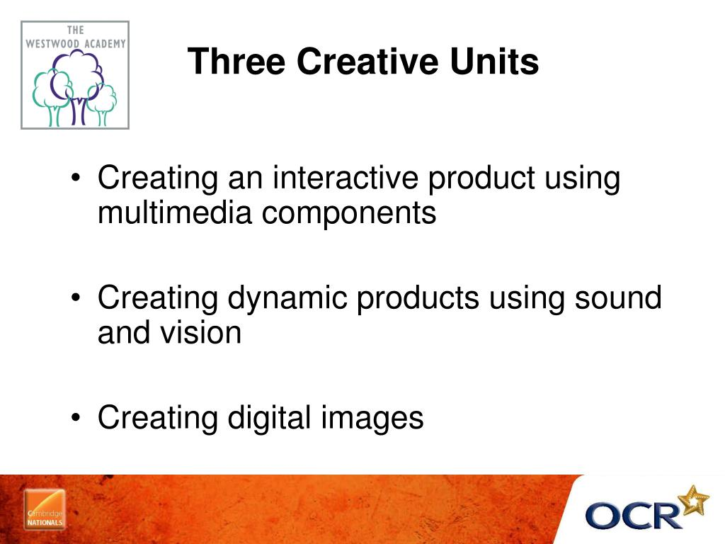 Three Creative Units