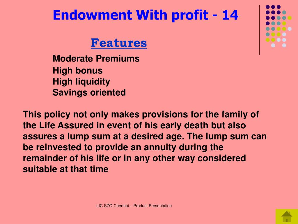 Endowment With profit - 14