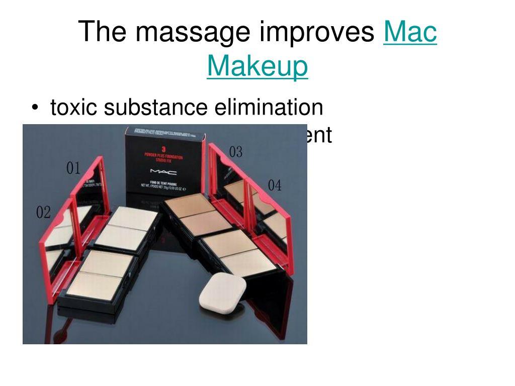 The massage improves