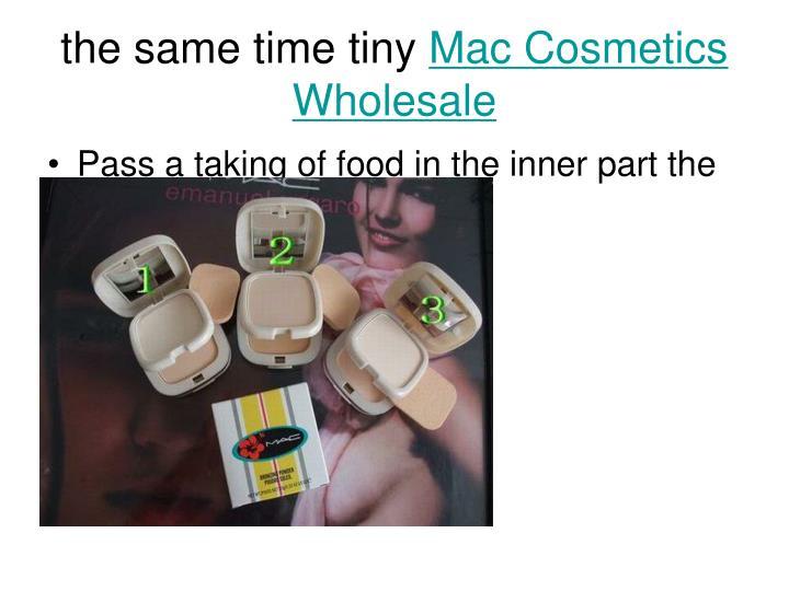 The same time tiny mac cosmetics wholesale