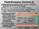 field emission devices i